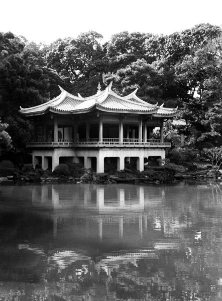 Shinjuku Imperial Gardens - Tokyo, Japan 1998 Feb