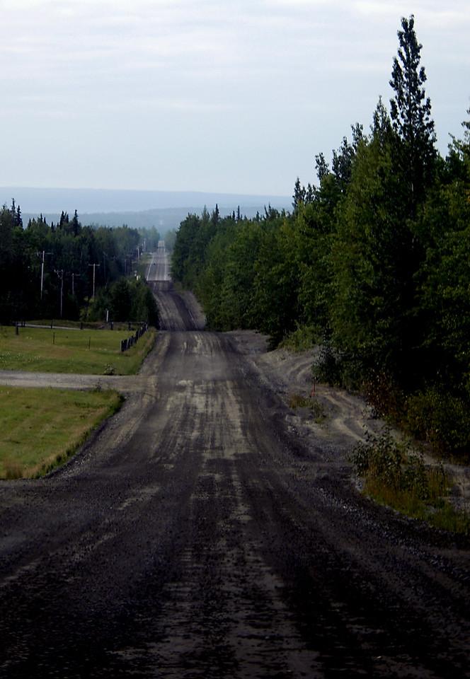 the long & rolling road-Kenai Peninsula, Alaska 9-2-2007