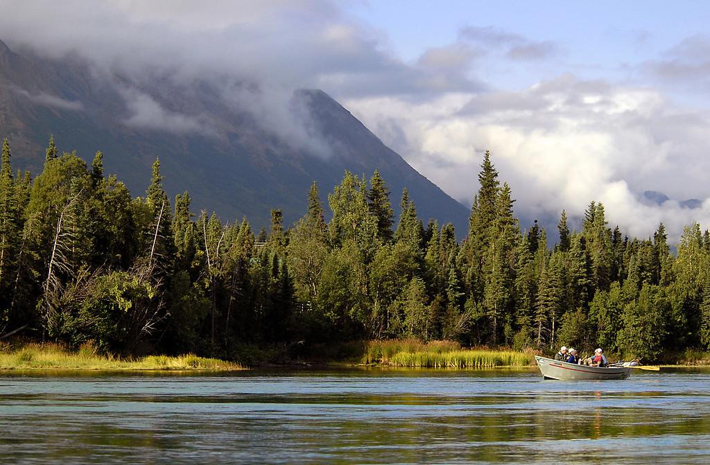michael, row your boat ashore to Cooper Landing, AK 9-2-2007