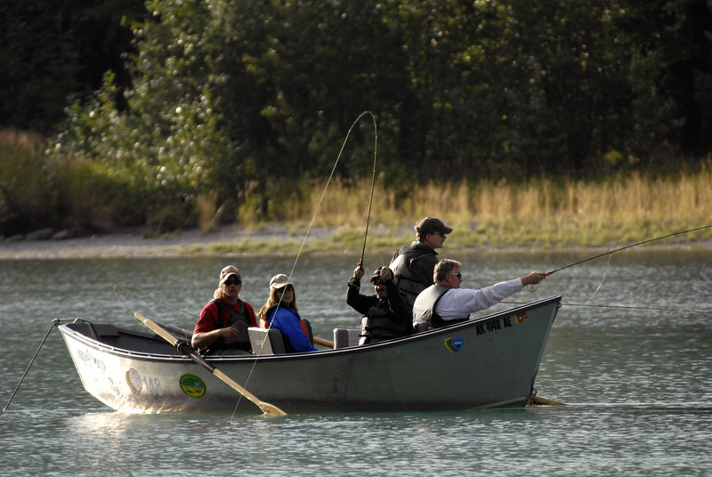 fishers of men-Kenai River, Cooper Landing, AK 9-2-2007