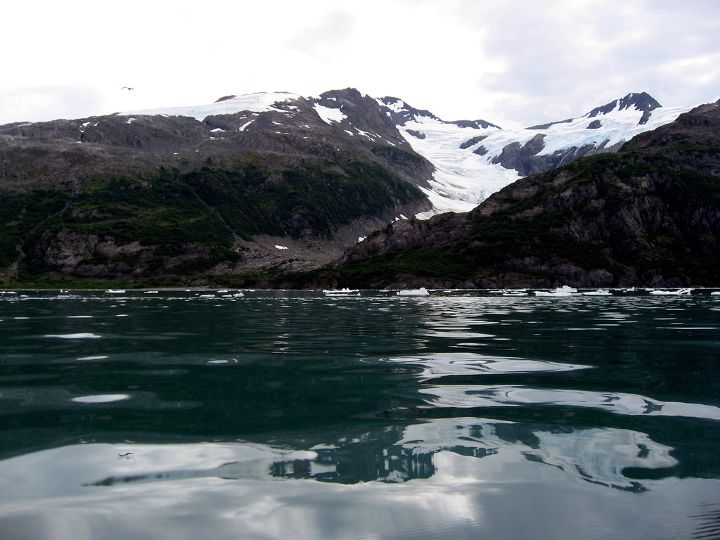 glassy waters of Blackstone Bay, AK 8-30-2007