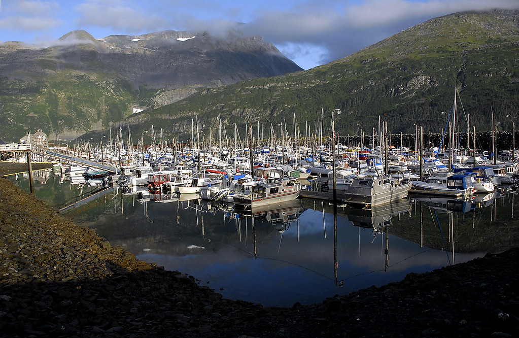 boat harbor-Whittier, Alaska 8-30-2007