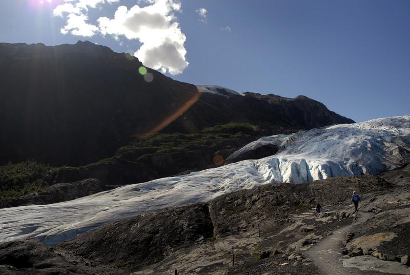 Exit Glacier in Kenai Fjords NP, AK 8-31-2007
