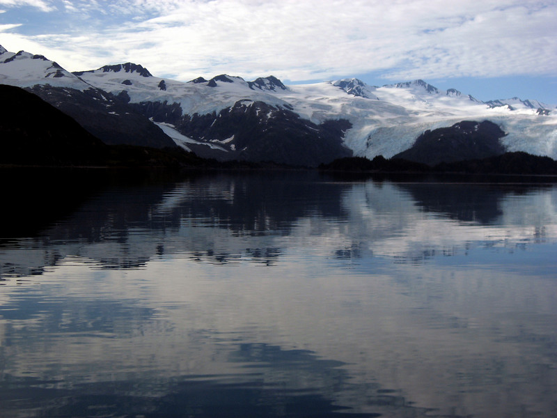 Blackstone Bay glaciers, Passage Canal, Prince William Sound, AK 8-30-2007