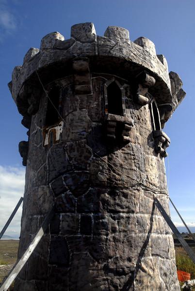 Rapunzel's tower-Homer Spit, Alaska 9-1-2007