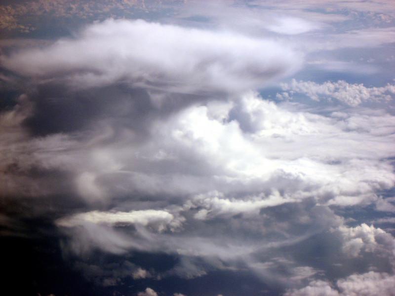mushroom cloud above Alaska 9-2-2007