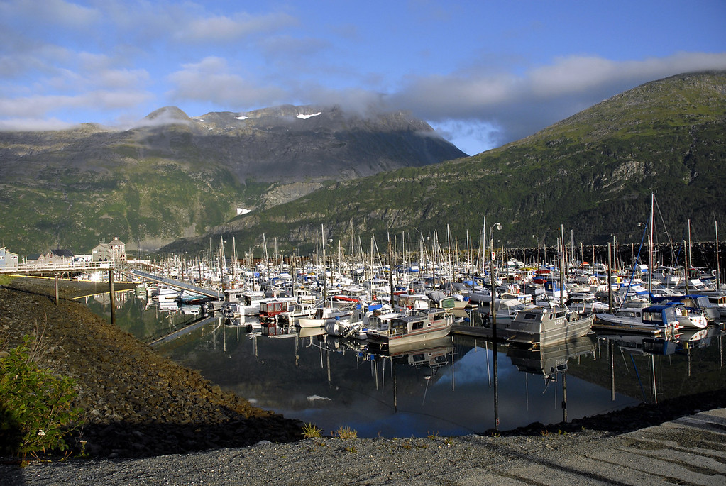 Whittier, Alaska harbor-Passage Canal 8-30-2007