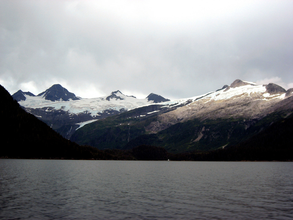 glaciers above Passage Canal, Prince William Sound, AK 8-30-2007