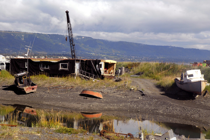 boat-trailer-Homer Spit, Alaska 9-1-2007