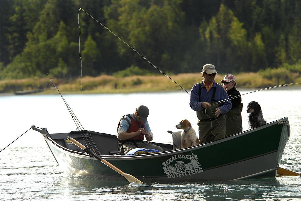dog days of summer-Kenai River-Cooper Landing, AK 9-2-2007