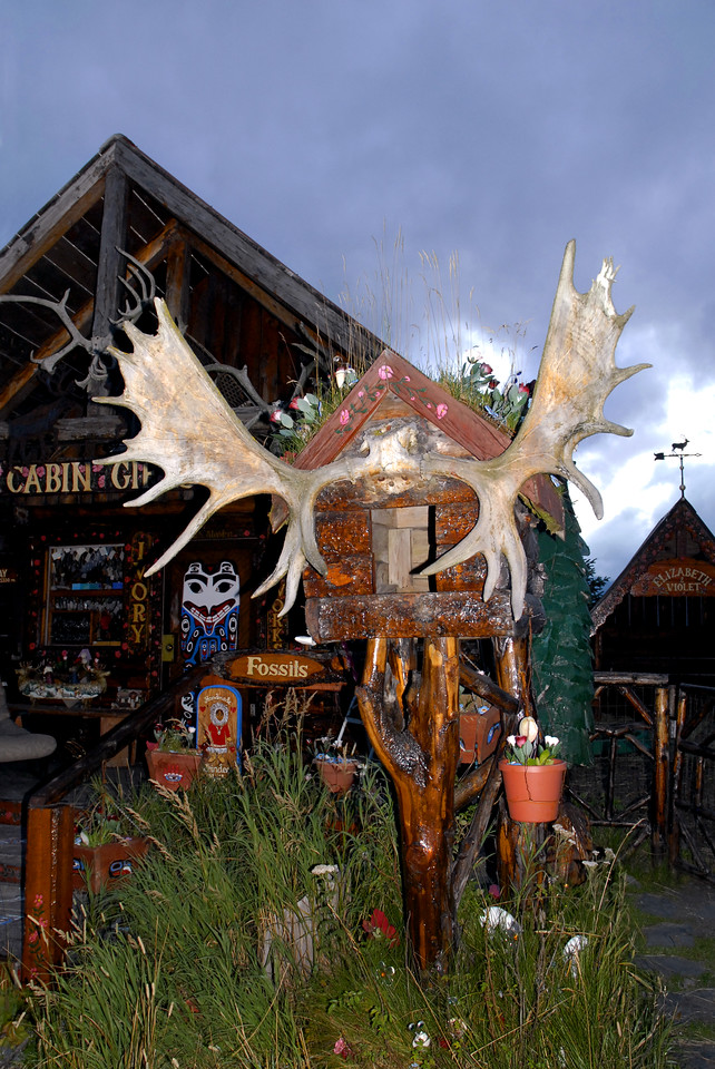 for those in search of antlers-Cabin Gifts-Whittier, AK 8-30-2007