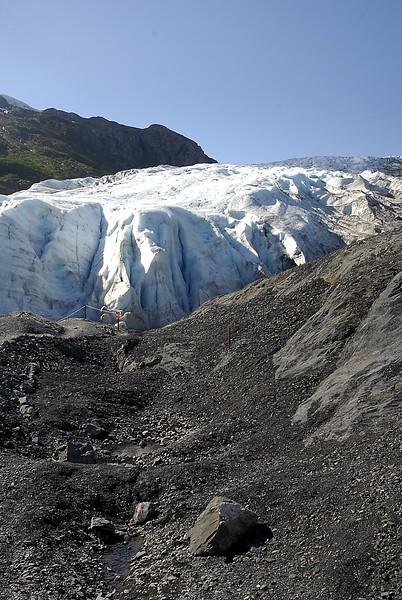 moraine beneath Exit Glacier-Seward, AK 8-31-2007