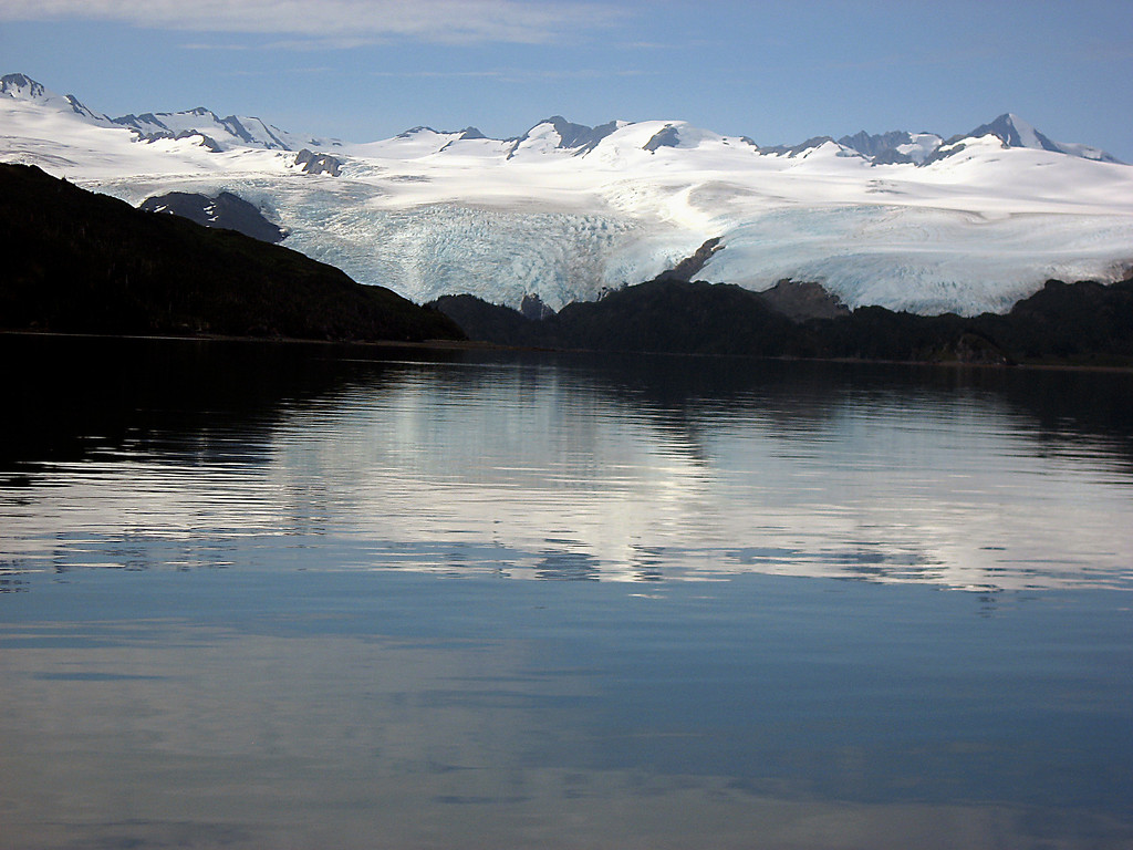 Blackstone & Northlands glaciers-Passage Canal, Alaska 8-30-2007