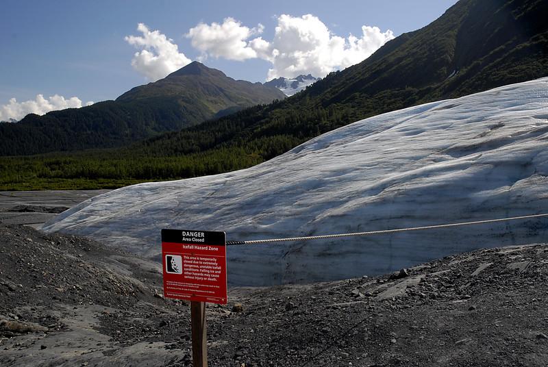 end of the ice age-Exit Glacier-Seward, AK 8-31-2007