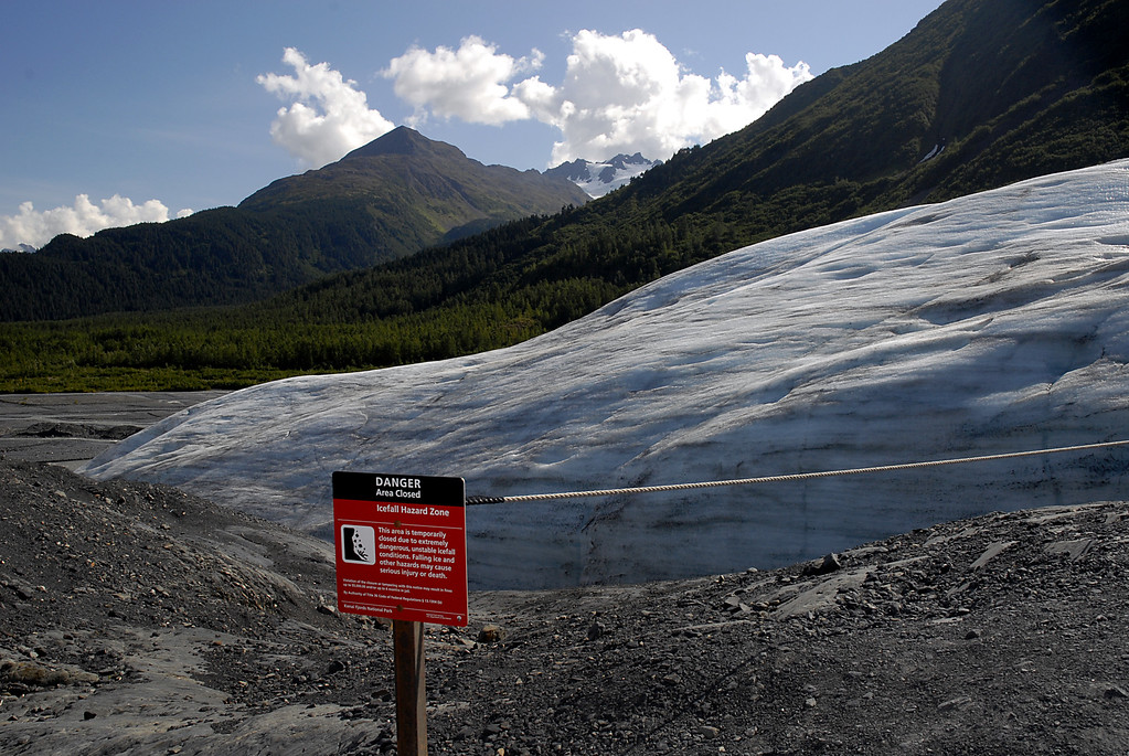 end of the ice age-Exit Glacier-Seward, AK 8-31-2007