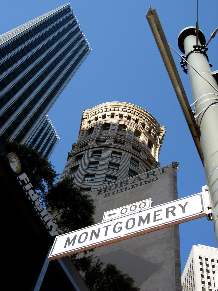 Hobart Bldg, Montgomery & Market Streets-San Francisco 8-2006