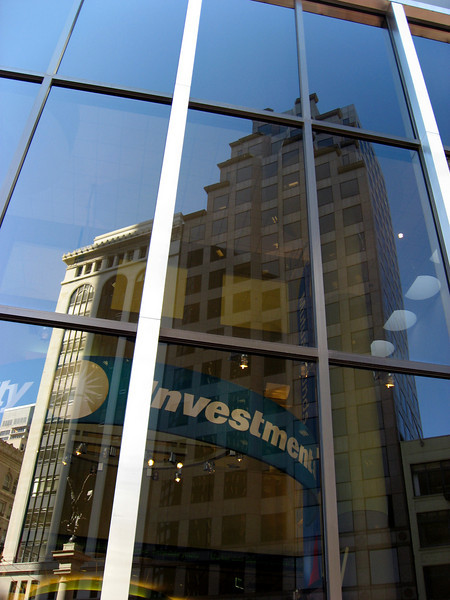 Fidelity Investments reflections-downtown San Francisco 8-2006