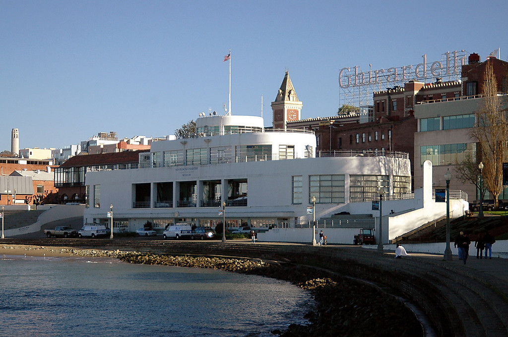 San Francisco Maritime Museum & Ghirardelli Chocolates, CA 2-14-06
