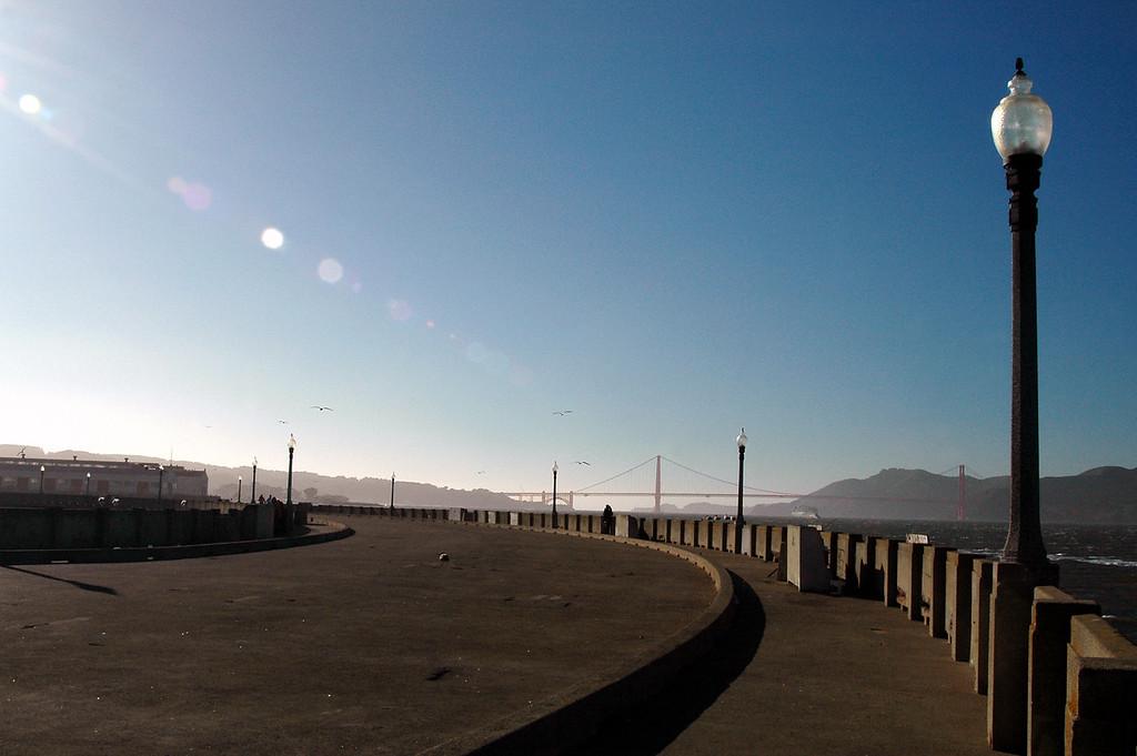 Van Ness pier, Golden Gate Bridge-San Francisco, CA 2-14-06