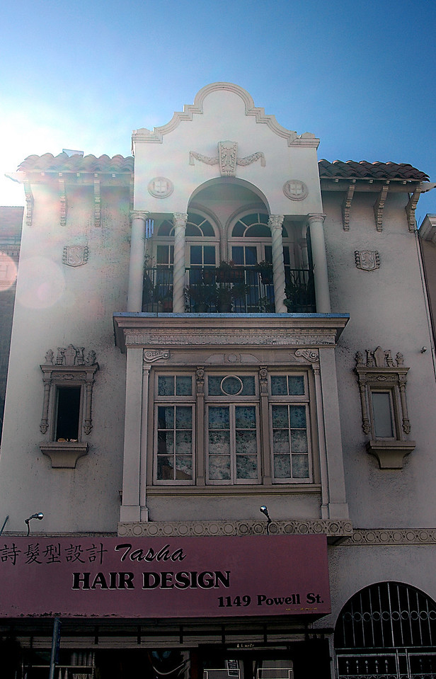 Powell Street building-San Francisco, CA 2-14-06