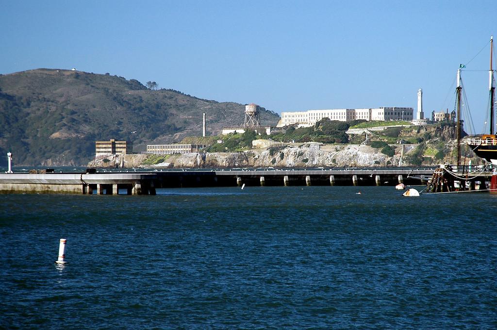 Alcatraz close-up-San francisco Bay, CA 2-14-06