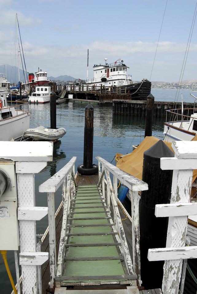 boat ramp-Yacht Club Marina-Sausalito, CA 10-14-2006