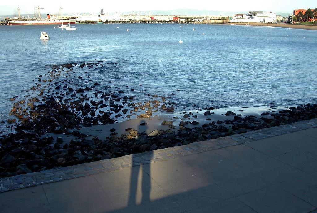 Kelly, Balclutha ship, Fisherman's Wharf, San Francisco 2-14-06