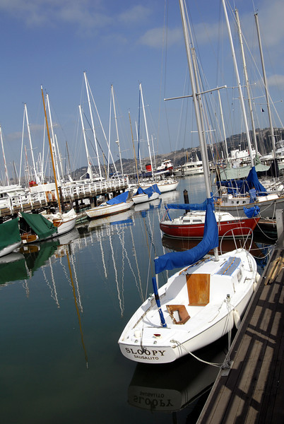 Yacht Club Marina-Sausalito, CA 10-14-2006