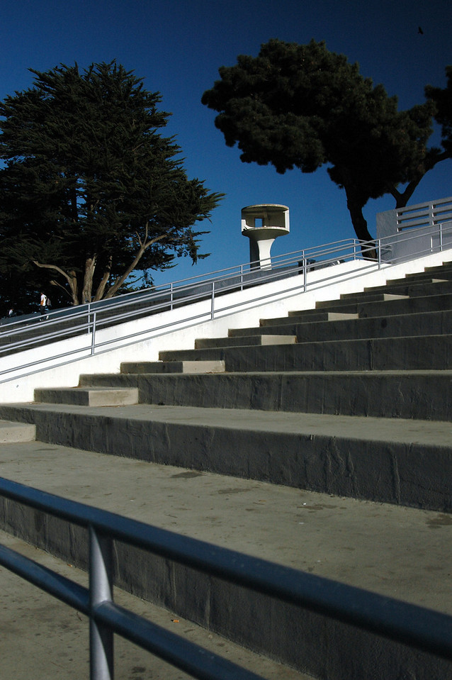 seeing eye over steps-San Francisco waterfront 2-14-06
