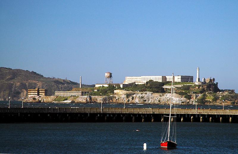 Alcatraz in San Francisco Bay, CA 2-14-06