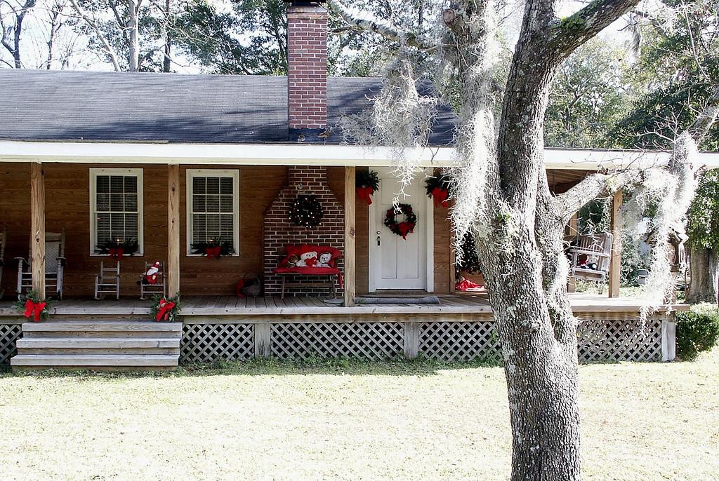 Christmas - Savannah, Georgia 2002