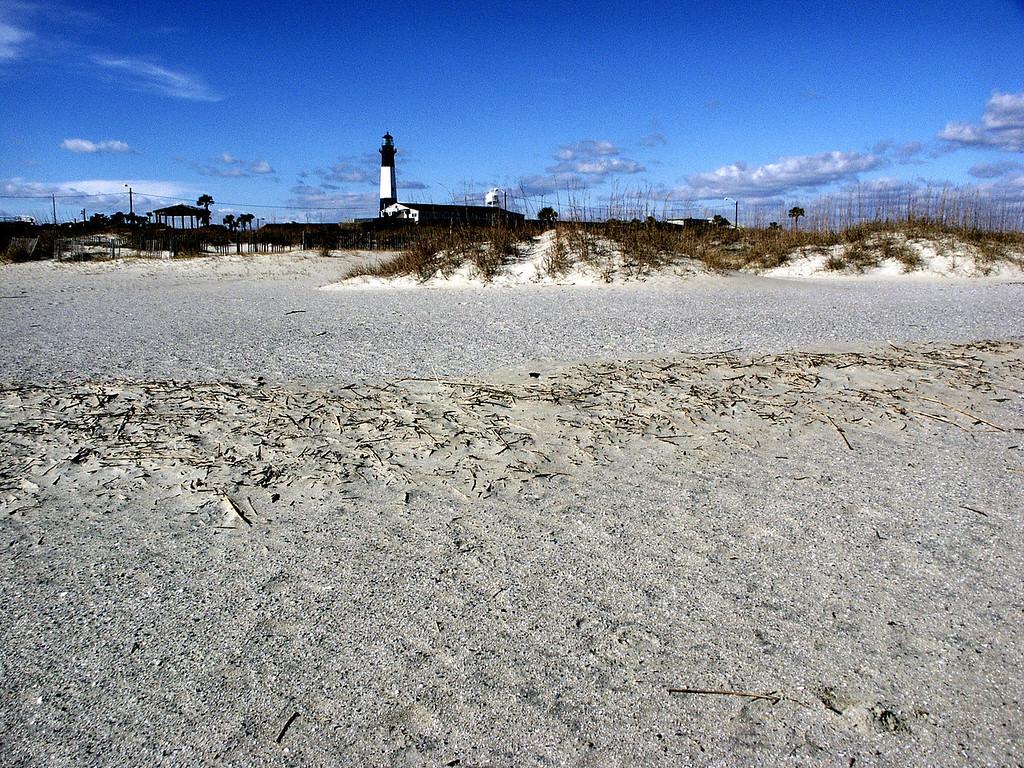 Tybee Island lighthouse, GA 2002