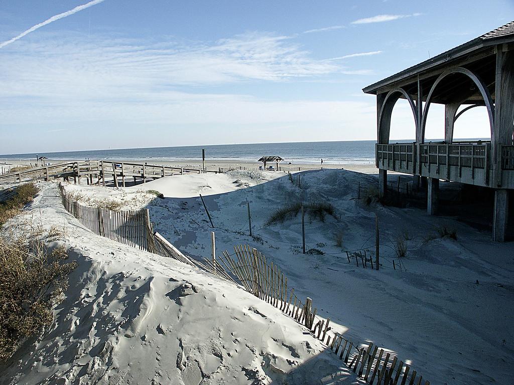 Tybee Island beach, GA 2002