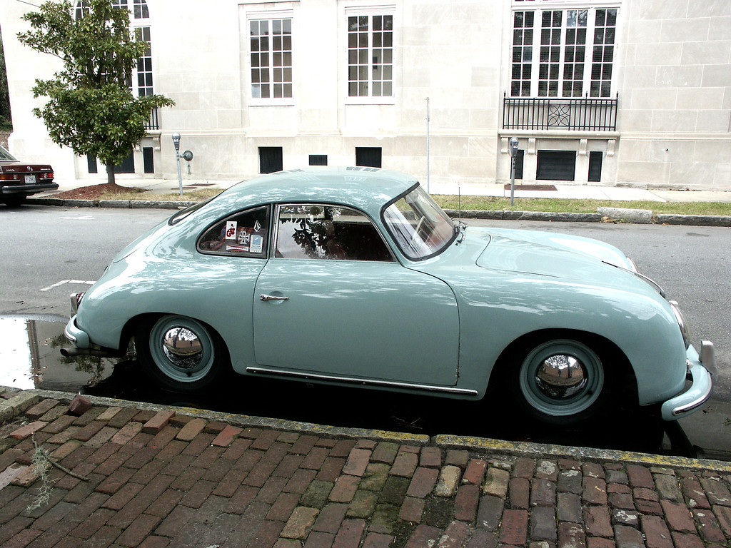 vintage Porsche in Savannah 2002
