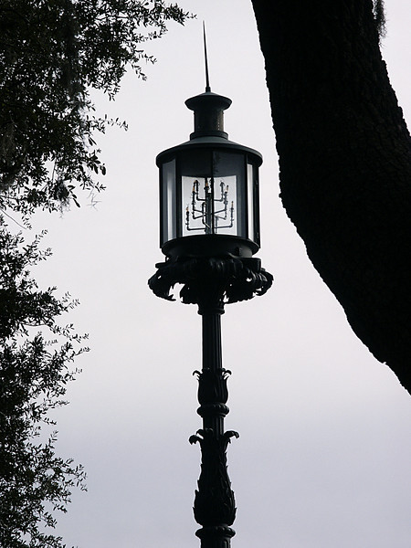 Emmet Park lamppost - Savannah, GA 2002