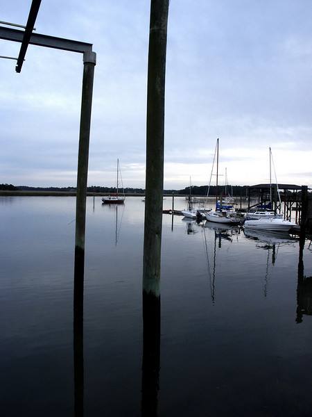 Isle of Hope marina, Georgia