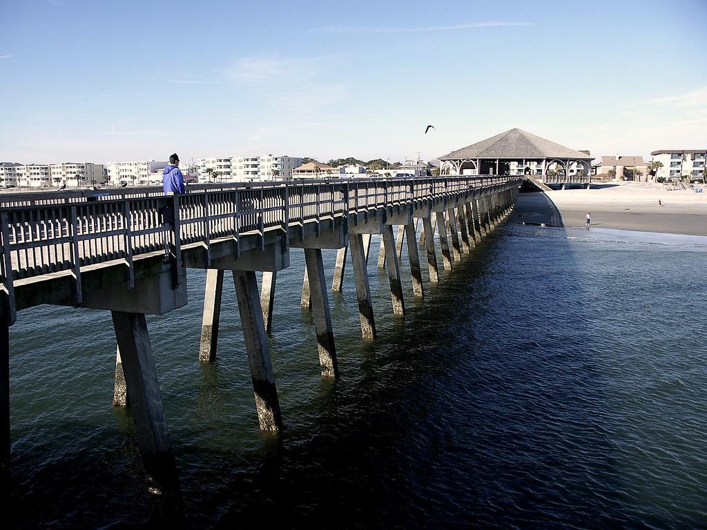 Tybee Island pier, GA 2002