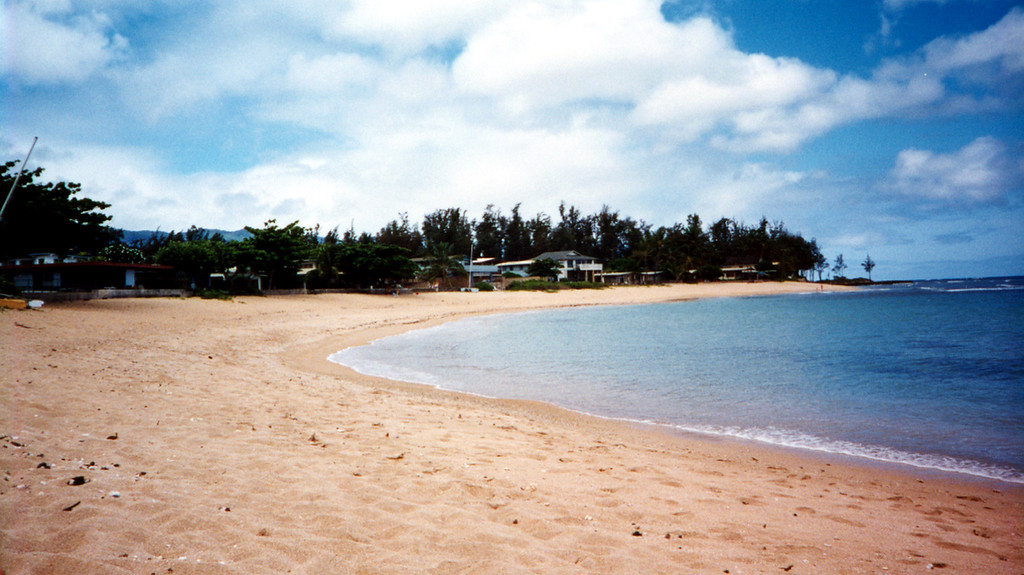 'our beach' Hale'iwa, Hawaii 1999 April