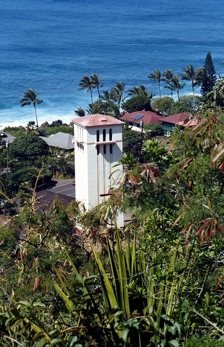 St  Peter & Paul's church - Waimea Bay 1999 Feb