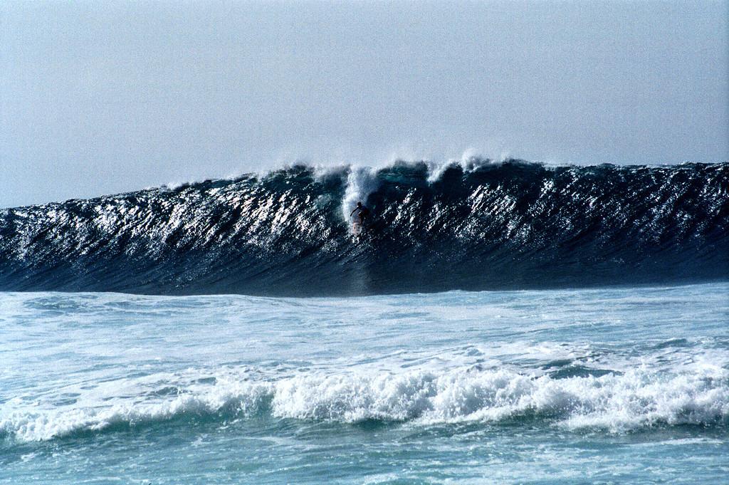 surfer - Banzai Pipeline - North Shore - O'ahu 1999 Dec