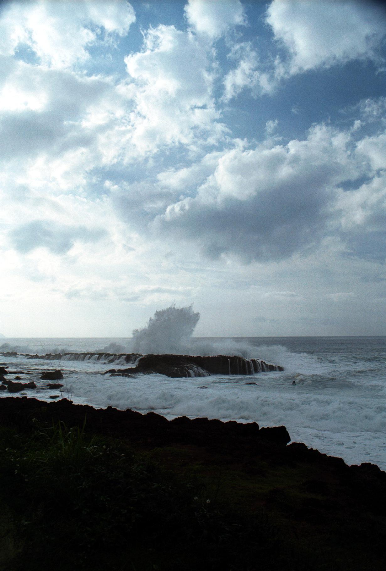 Pupukea Marine Life Conservancy surf 1999 Dec
