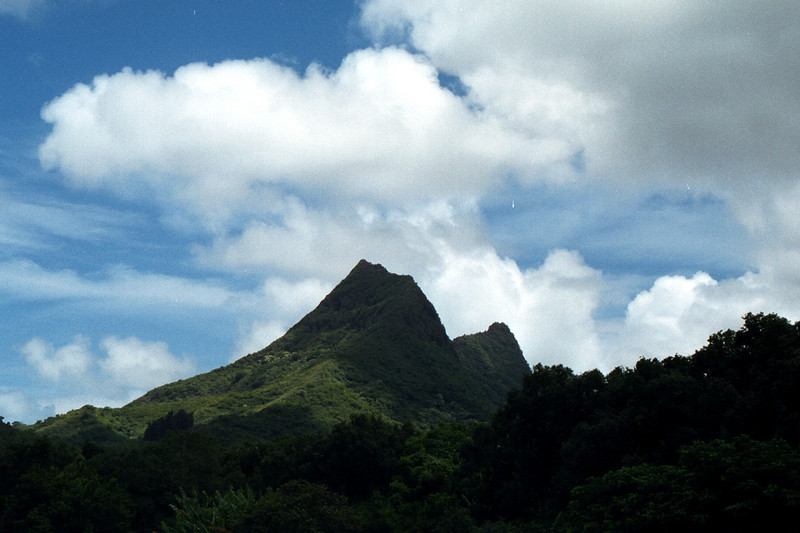 windward mtns - O'ahu 1999 Sept