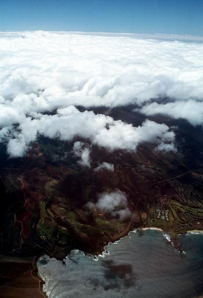 Maui-Waui aerial view 1999 Oct