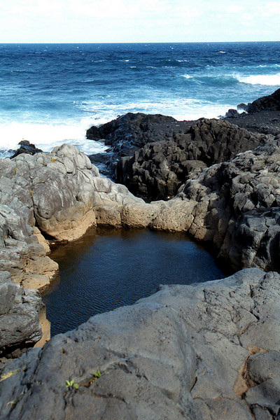 Ohe'e Gulch pool - Maui 1999 Oct