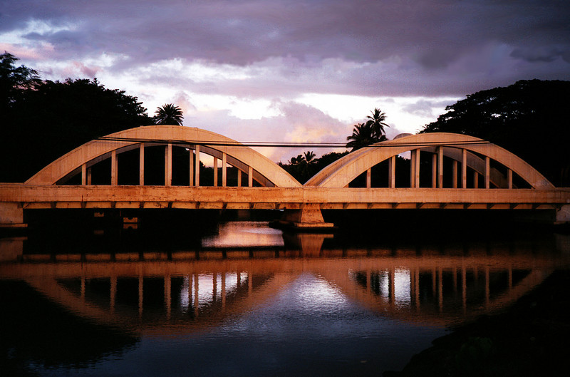 Anahulu Stream Bridge - Hale'iwa, Hawaii 1999 Aug