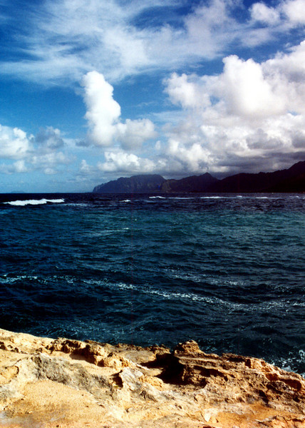 Laie coast - Windward O'ahu 1999 Sept