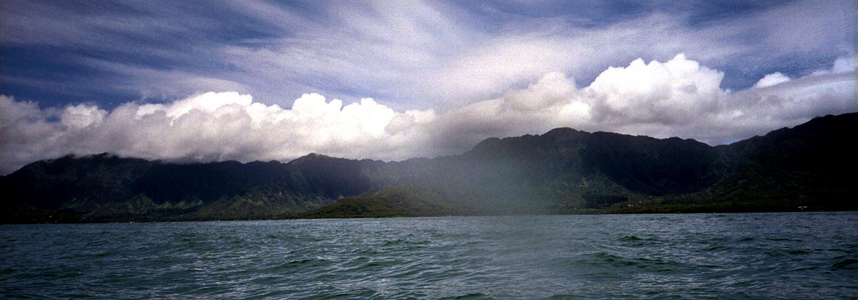 kayaking O'ahu 1999 July