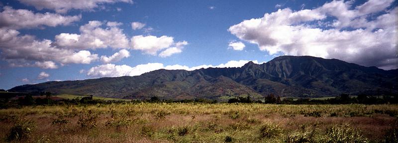 Hale'iwa & Waianae Mtns  1999 July
