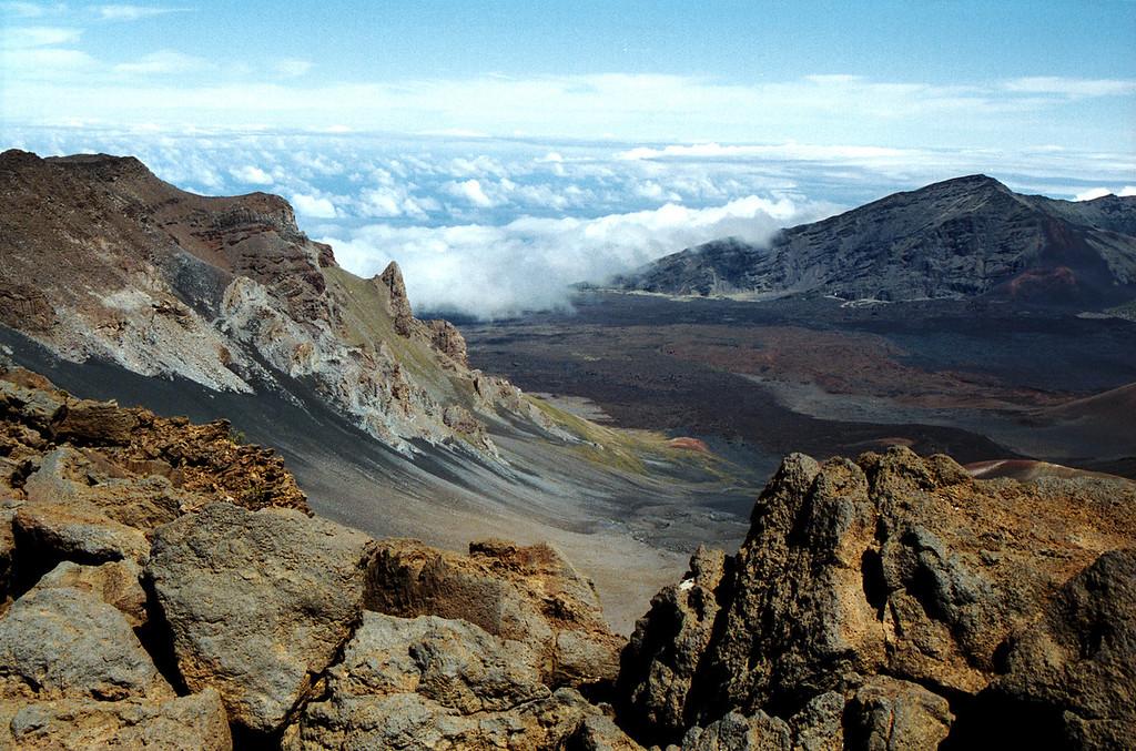Haleakala Crater - Maui 1999 Oct