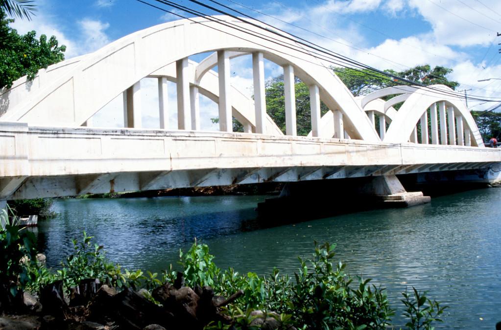 Anahulu Stream  Bridge - Hale'iwa, Hawaii 2000 April